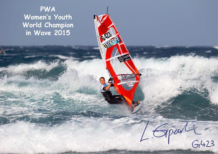 PWA Women's Youth World Champion in Wave 2015